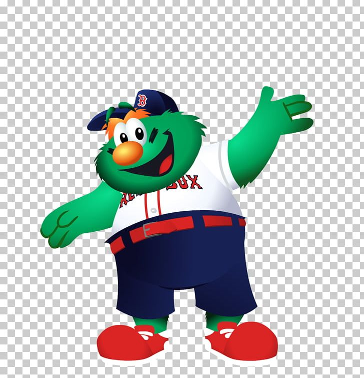 Wally the green monster clipart graphic transparent download Boston Red Sox Wally The Green Monster Mascot Baseball PNG ... graphic transparent download