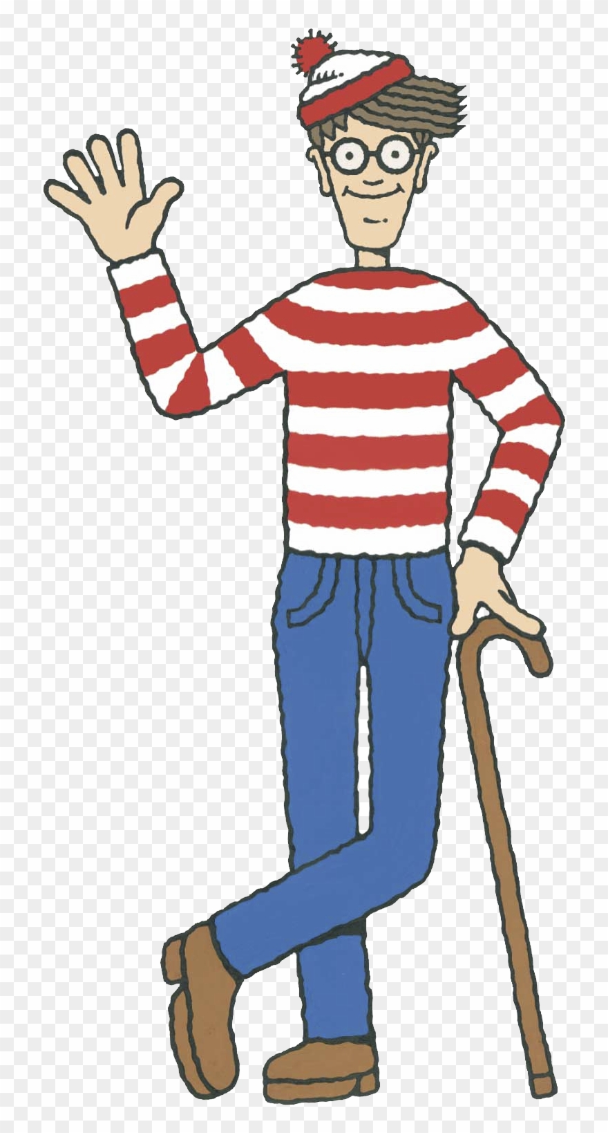Wally the green monster clipart picture library Where\'s Wally - Where\'s Wally? Clipart (#1112362) - PinClipart picture library