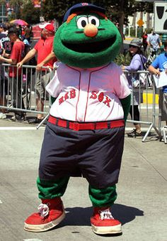 Wally the green monster clipart jpg free stock 26 THE BEST MASCOT IN THE MLB wally the green monster images ... jpg free stock