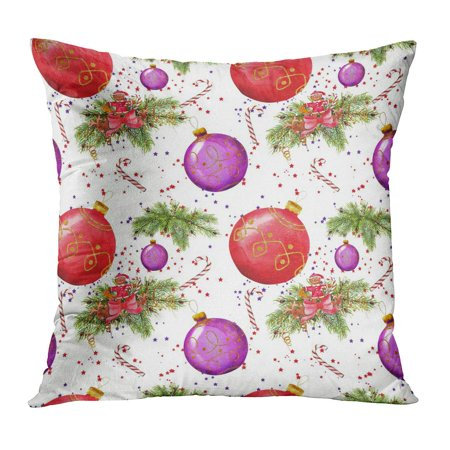 Walmart christmas clipart clip library download ECCOT Pattern Christmas Clipart Handwork by Watercolor Caramel Pechenea  Tree Cookies Drawing Pillowcase Pillow Cover Cushion Case 16x16 inch clip library download