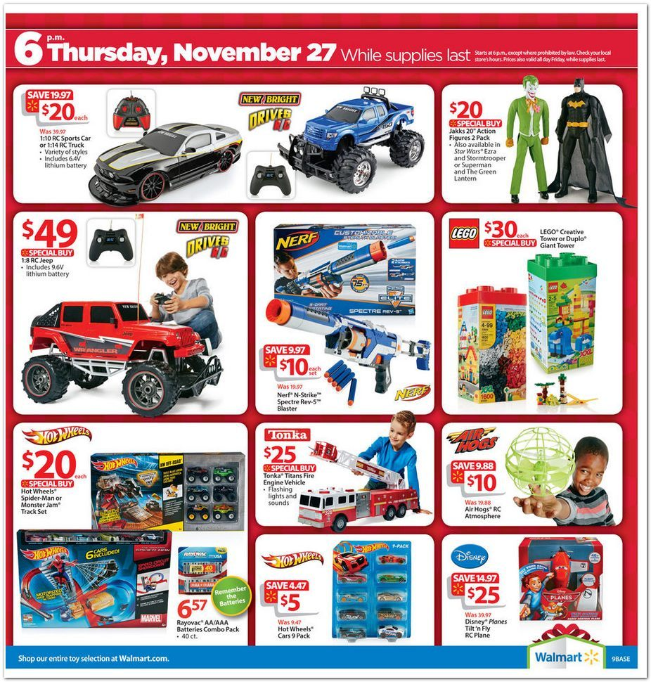 Walmart christmas toy ad clipart png free library Walmart Black Friday ad; deals kick off at 6 p.m. on ... png free library