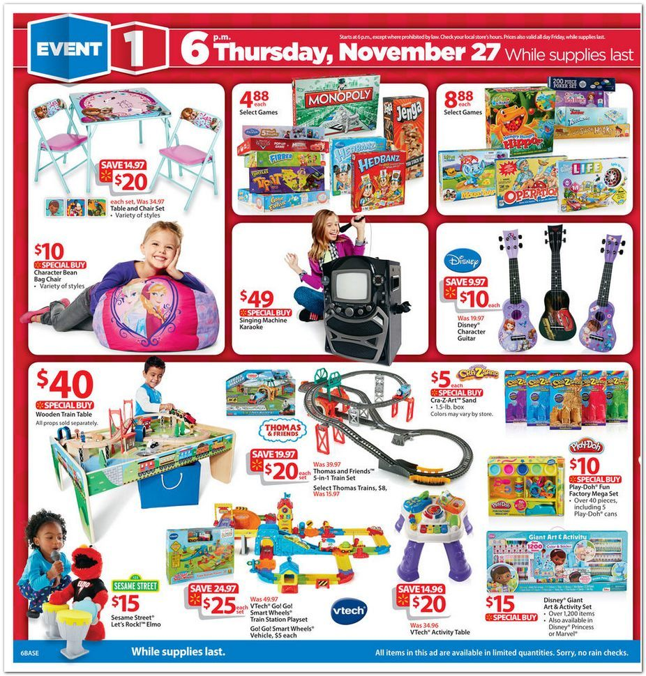 Walmart christmas toy ad clipart banner download Walmart Black Friday ad; deals kick off at 6 p.m. on ... banner download