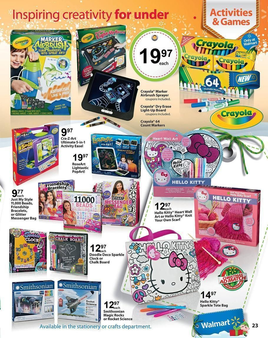 Walmart christmas toy ad clipart png black and white stock Walmart 2013 Toy Book Page 23 Ad | christmas 2013 | Walmart ... png black and white stock