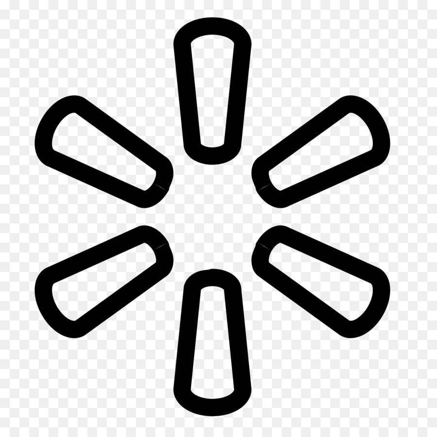 Walmart icon clipart png library download Walmart Line png download - 1600*1600 - Free Transparent ... png library download