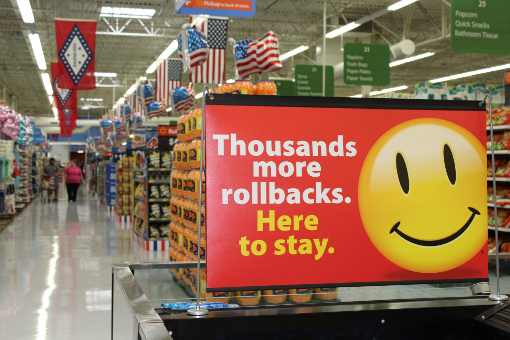 Walmart smiley face clipart clipart black and white download brandchannel: How Walmart Plans to \'Reimagine Retail\' and ... clipart black and white download