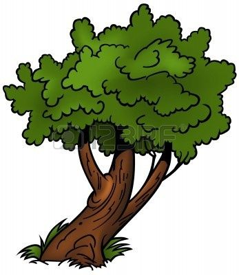 Walnut tree clipart clipart svg freeuse download Pine Tree Clip Art | Pine Tree for the Newlyweds | Peacock River ... svg freeuse download