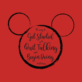 Walt disney sayings clipart clipart library library Walt Disney Quotes T-Shirts | TeePublic clipart library library