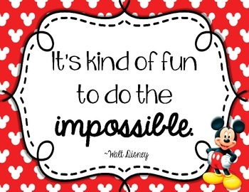 Walt disney sayings clipart png free library Inspirational Walt Disney Quotes for the classroom png free library