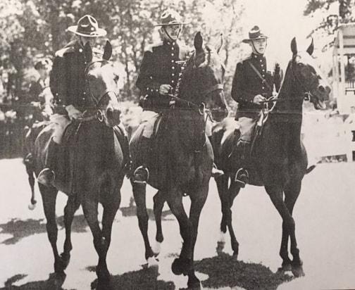 Wampanoag riding horse clipart svg transparent download History - Golds Dragoons svg transparent download