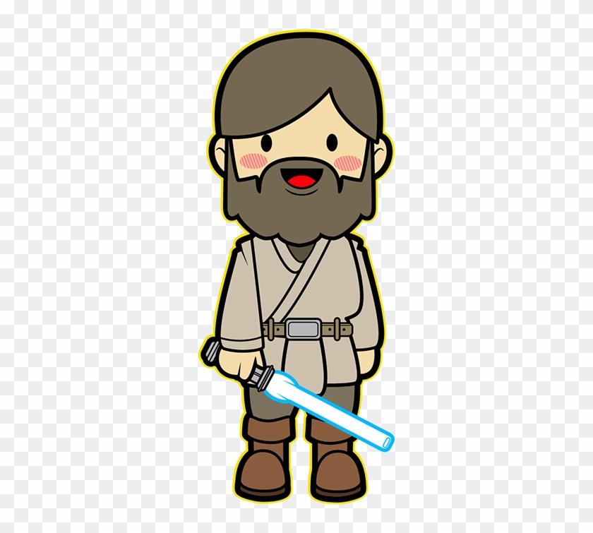 Wan clipart picture freeuse Luke Skywalker Clipart Kawaii - Obi Wan Kenobi Kawaii, HD ... picture freeuse