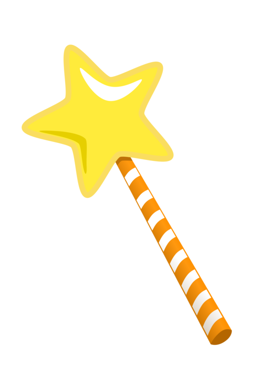 Wand clipart free clipart free library Line,Yellow,Wand Vector Clipart - Free to modify, share, and ... clipart free library