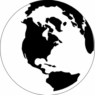 Wanderlust globe clipart free clip black and white stock Result For: globe black and white , Free png Download ... clip black and white stock