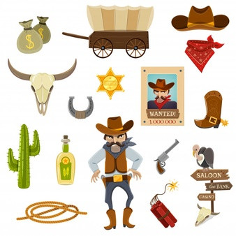 Wanted cowboys for kids clipart vector freeuse Cowboy Vectors, Photos and PSD files   Free Download vector freeuse