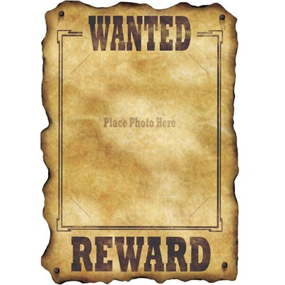 Wanted cowboys for kids clipart image black and white library Wild West Party Supplies – Cowboy Party   Woodies Party image black and white library