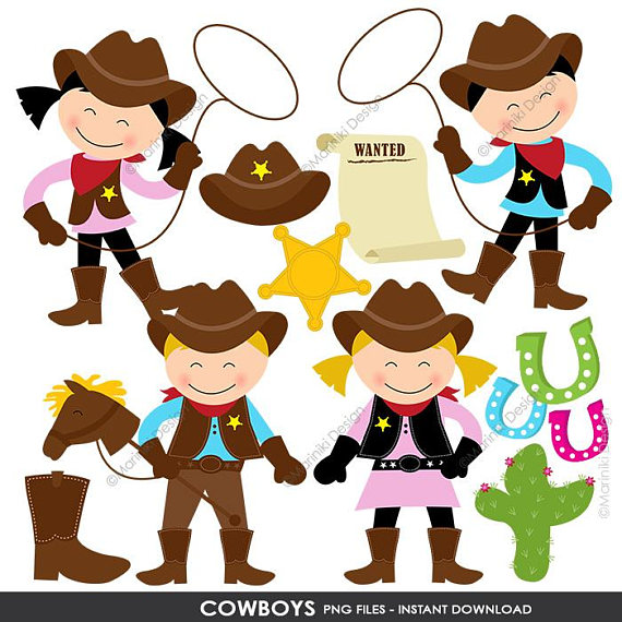 Western clipart invitations svg free download Cowboy Clipart, Cowgirl Clip Art, Wild West, Western Clipart ... svg free download