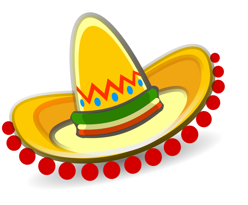 Wanted guy clipart sombero jpg library download Images Of Sombreros Clipart | Free download best Images Of ... jpg library download