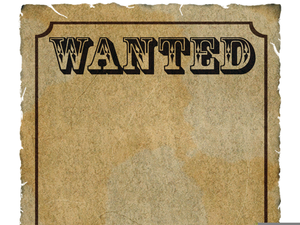 Poster clipart free download Blank Wanted Poster Clipart | Free Images at Clker.com ... download