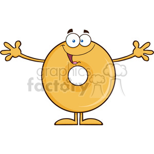 Wanting clipart svg free stock 8657 Royalty Free RF Clipart Illustration Funny Donut Cartoon Character  Wanting A Hug Vector Illustration Isolated On White clipart. Royalty-free  ... svg free stock