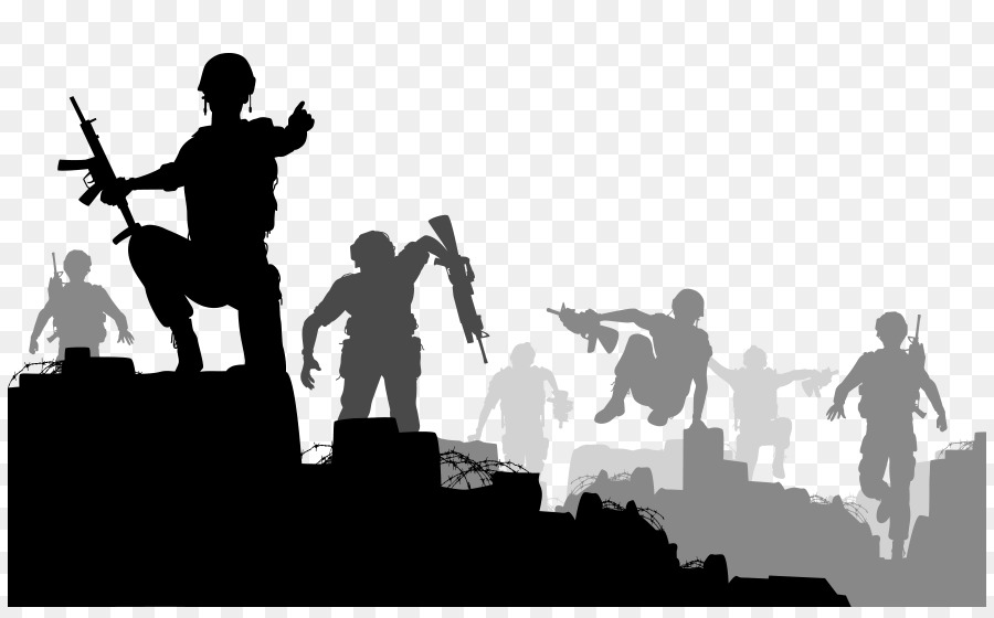War background image clipart banner freeuse stock Group Of People Background clipart - Soldier, War, People ... banner freeuse stock
