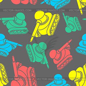 War background image clipart banner free stock Tank pattern seamless. War machine background. - vector ... banner free stock