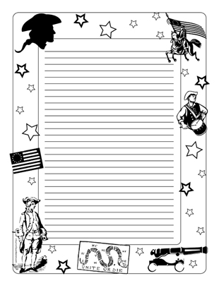 War border clipart png freeuse stock Revolutionary War- Portrait College Rule png freeuse stock