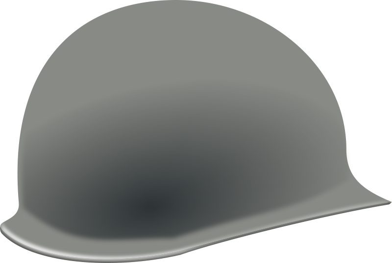 War helmet ww2 clipart graphic download Free Clipart: US helmet (second world war)   rg1024 graphic download