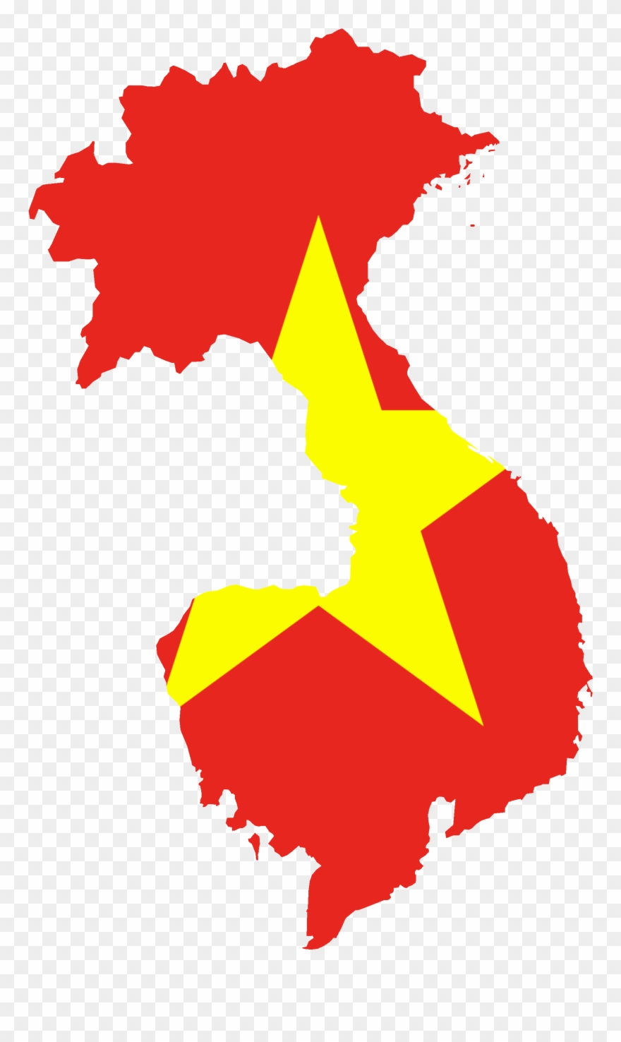 Vietnam map clipart clip black and white stock Vietnam Flag Cliparts - Vietnam War: The Vietnam War In 50 ... clip black and white stock