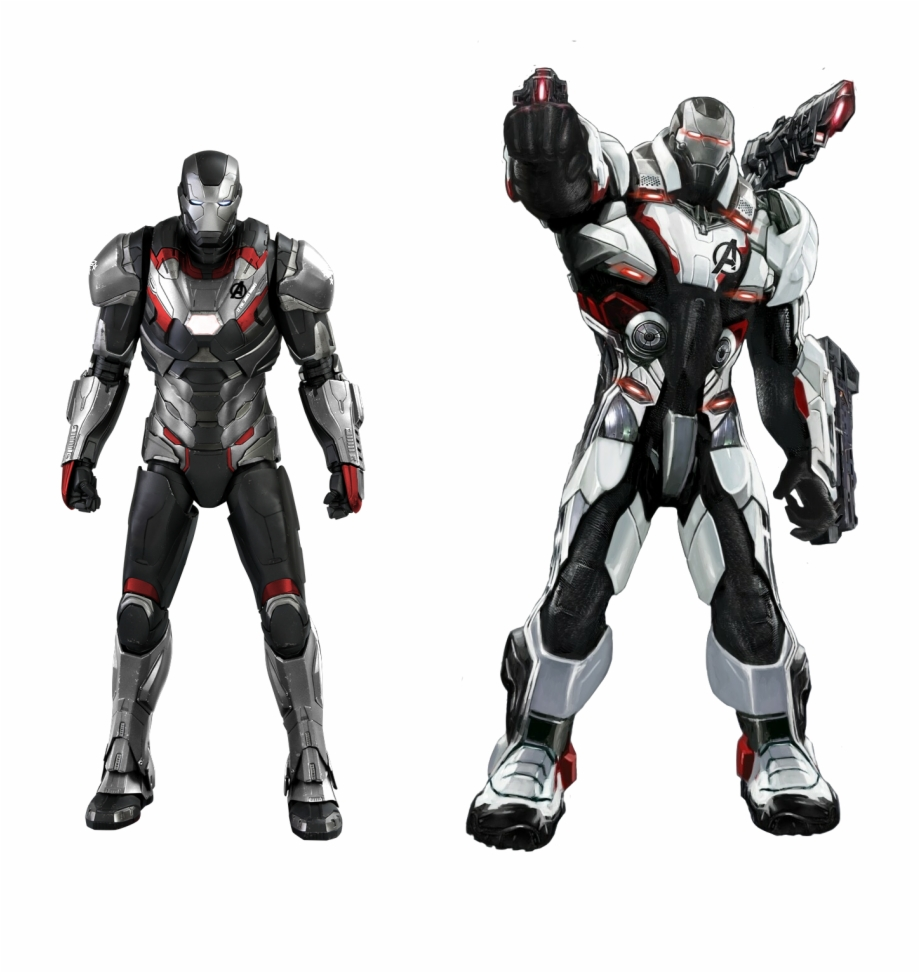 War machine clipart jpg library library Ironman - Avengers Endgame War Machine Free PNG Images ... jpg library library