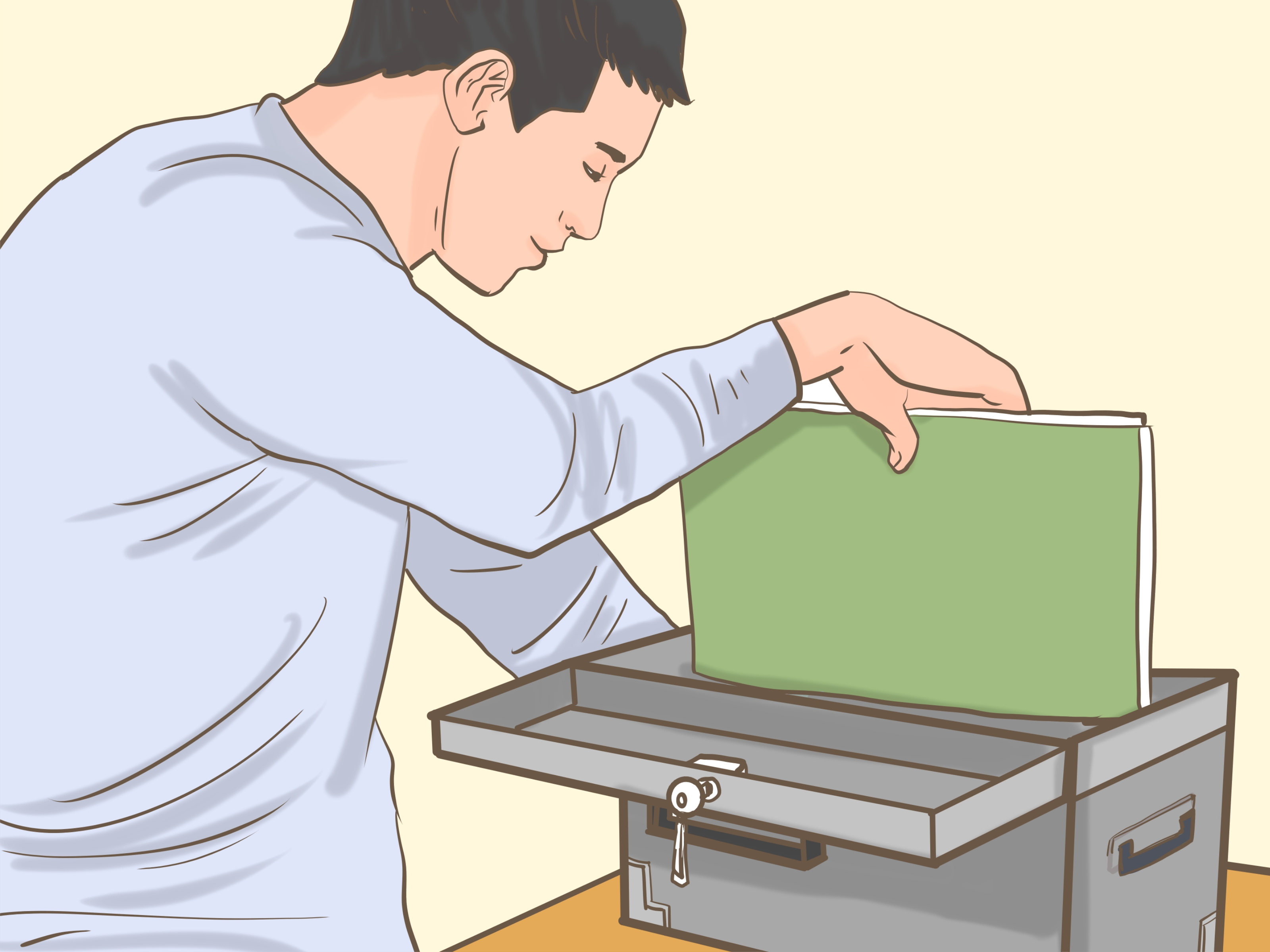 War planning table clipart picture black and white 4 Ways to Prepare for Nuclear War - wikiHow picture black and white