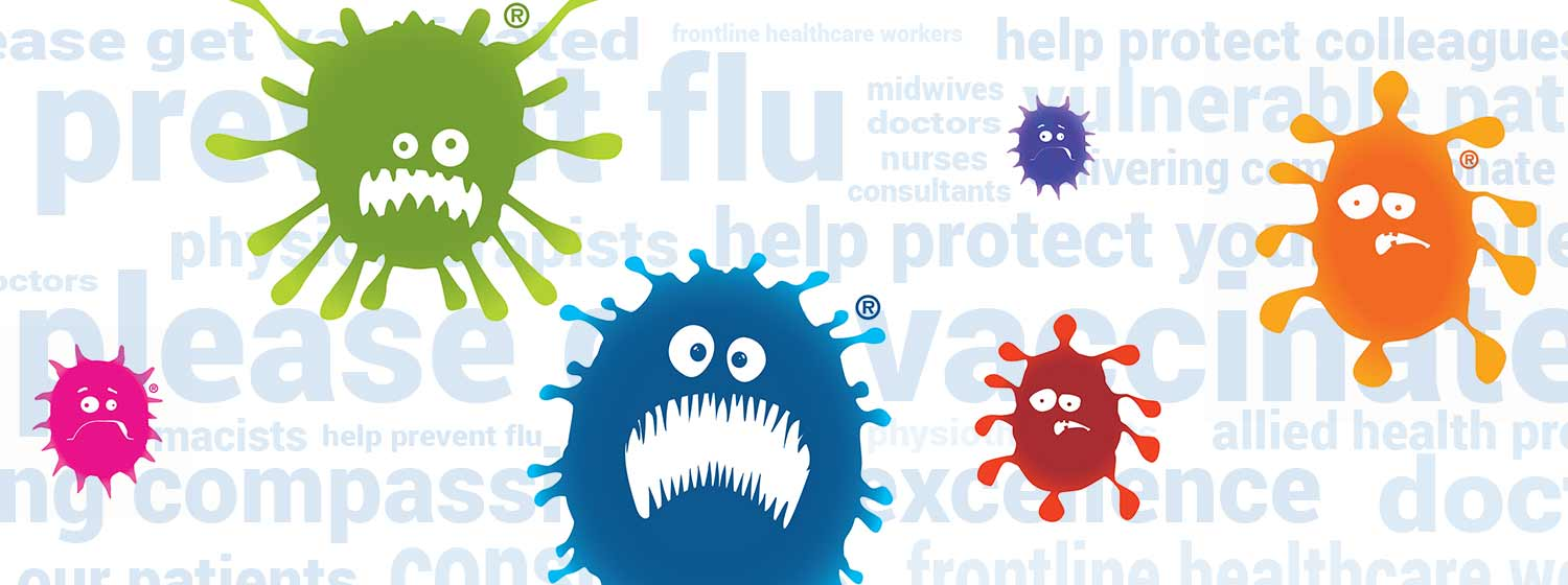 Ward off the flu clipart clipart transparent Flu - protect yourself - Oxford University Hospitals clipart transparent