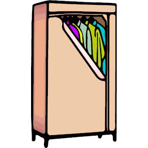 Wardrobe png clipart freeuse download Wardrobe clipart, cliparts of Wardrobe free download (wmf ... freeuse download