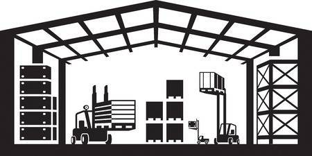 Warehouse clipart black and white clip free download Warehouse clipart black and white 3 » Clipart Portal clip free download