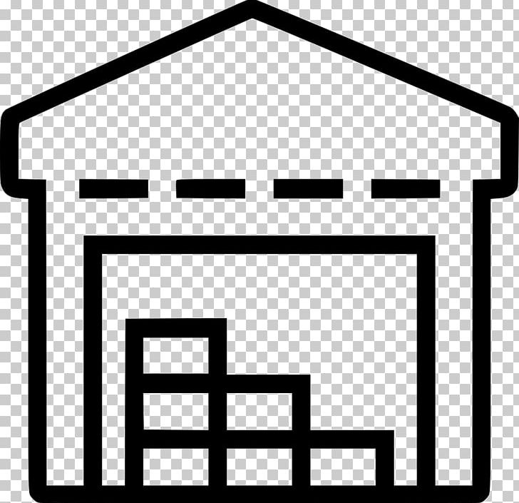 Warehouse clipart black and white image transparent stock Warehouse Inventory Logistics PNG, Clipart, Angle, Area ... image transparent stock