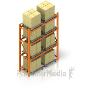 Warehouse clipart shelves picture royalty free library Moving Warehouse Inventory Rack To Rack - HD Video ... picture royalty free library