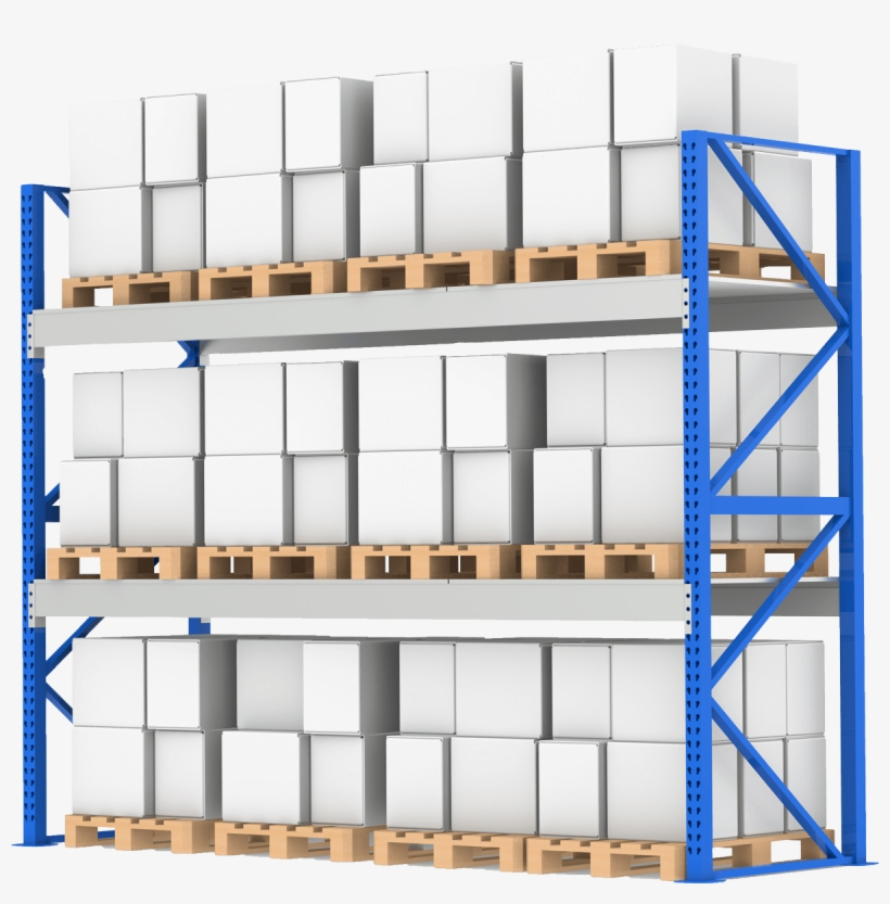 Warehouse clipart shelves clip library Industrial Rack Shelving By Power Machinery - Warehouse Rack ... clip library