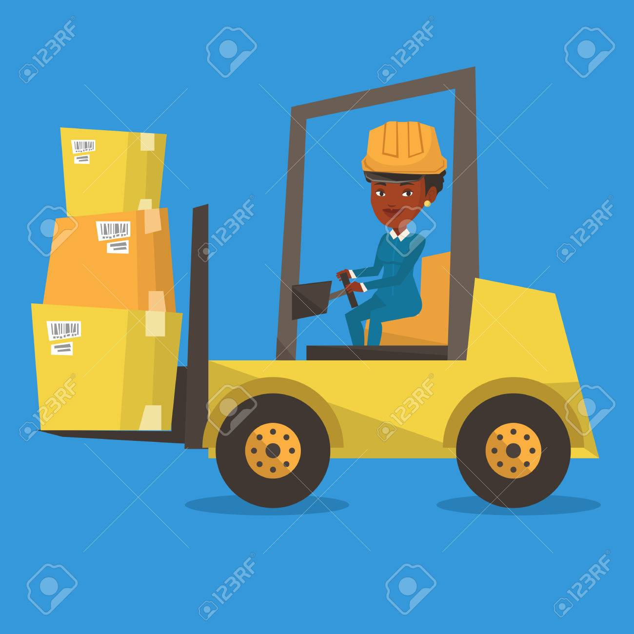 Warehouse driver clipart jpg library Forklift clipart warehouse worker - 112 transparent clip ... jpg library