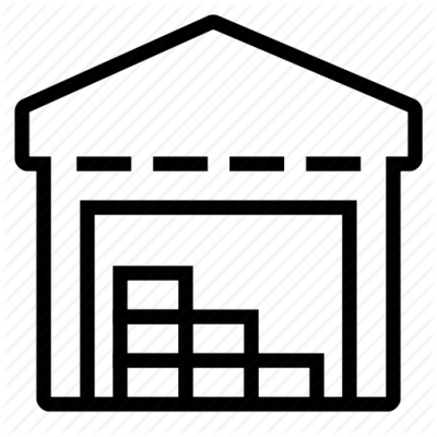 Warehouse icon clipart banner transparent Warehouse Icon Clipart - 19840 - TransparentPNG banner transparent