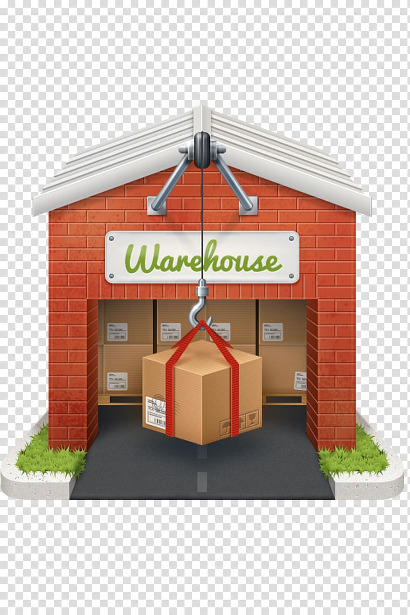 Warehouse icon clipart image transparent library Brown and gray warehouse , Icon Building Warehouse Icon ... image transparent library