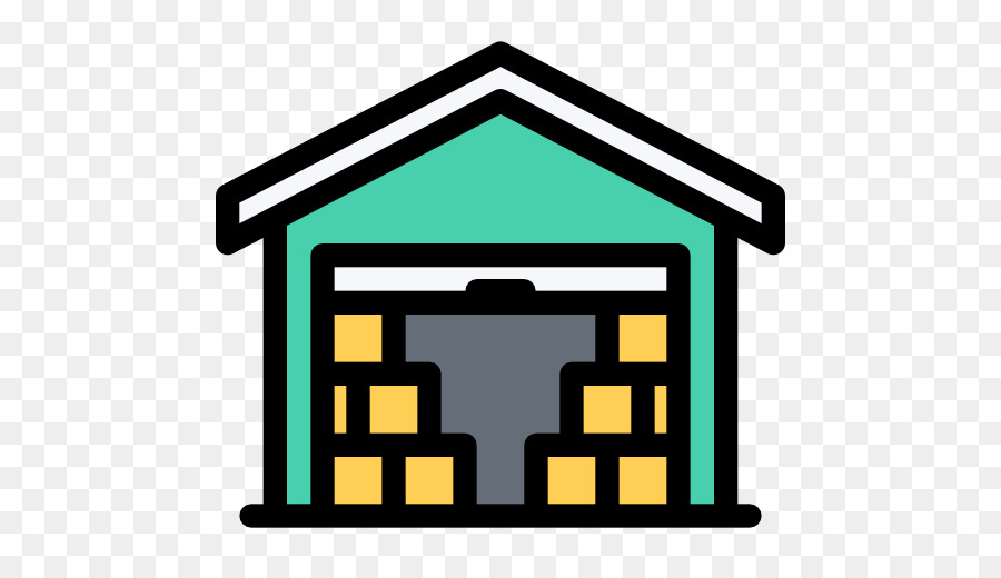 Warehouse icons clipart image black and white Warehouse Cartoon png download - 512*512 - Free Transparent ... image black and white