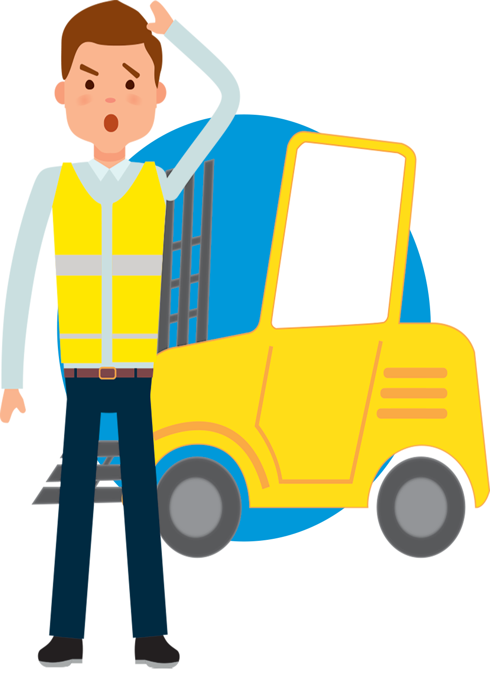Warehouse worker clipart picture royalty free Forklift clipart warehouse worker, Forklift warehouse worker ... picture royalty free