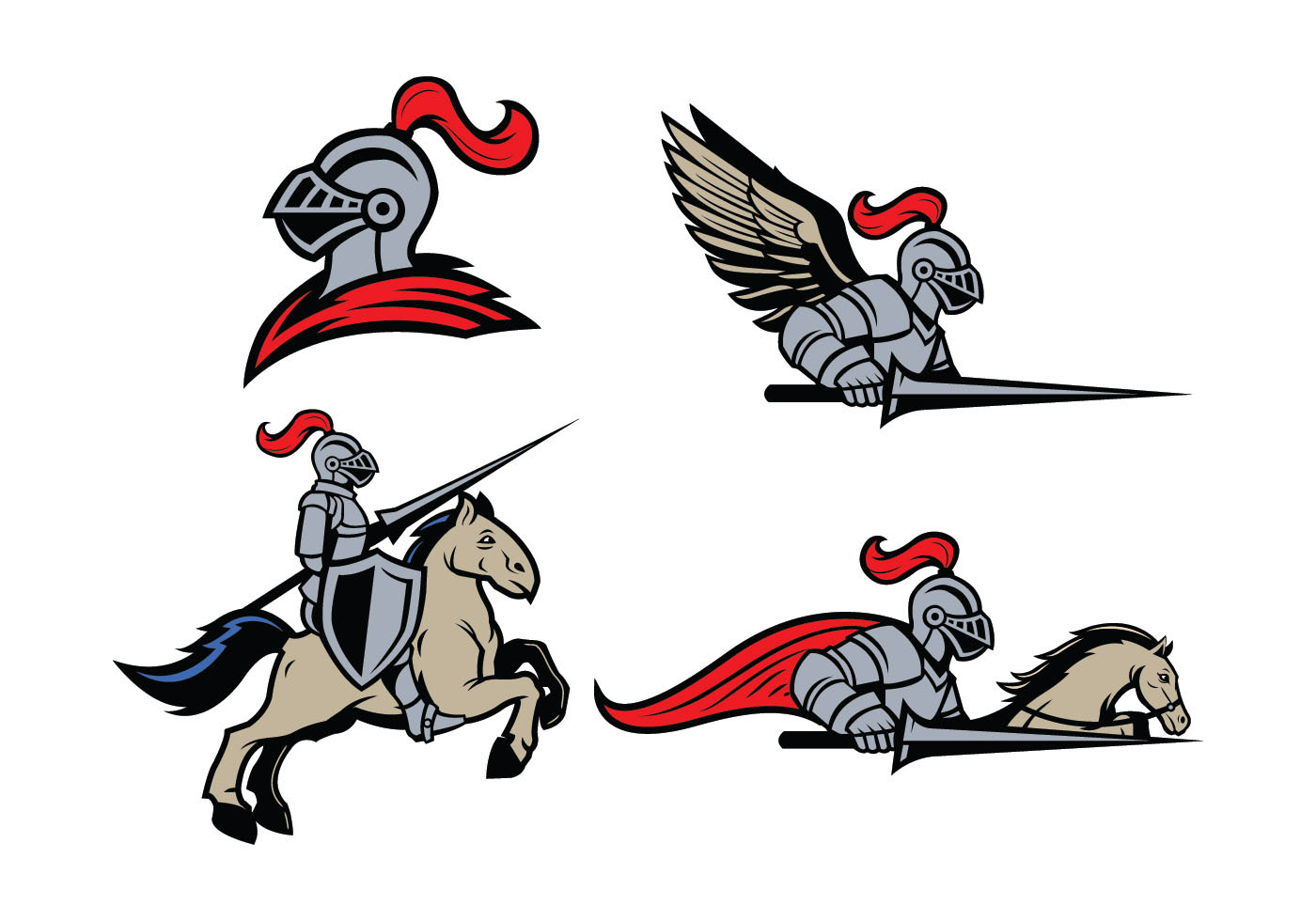 Warhelm clipart clip library Medieval Helmet Free Vector Art - (2,543 Free Downloads) clip library
