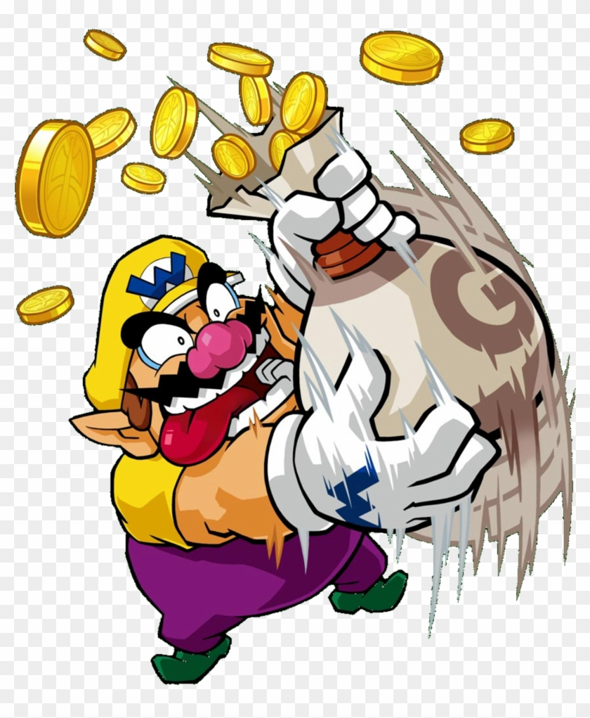 Wario clipart money jpg transparent library Wario - Spending Money On Games - Free Transparent PNG ... jpg transparent library