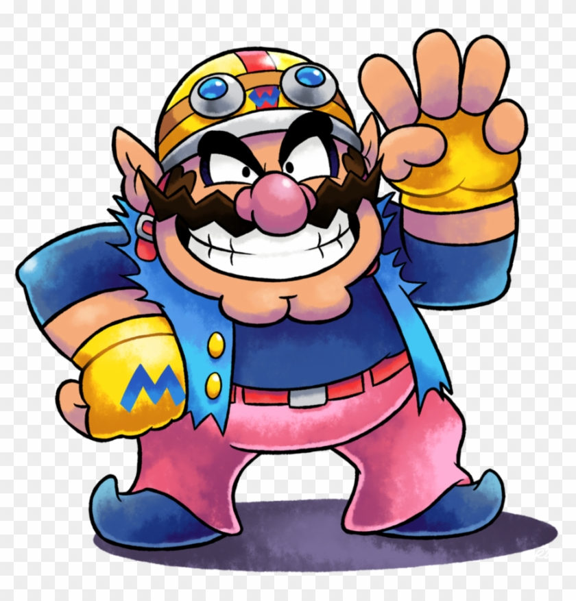 Wario clipart money svg freeuse stock I\'ve Legit Been Thinking About Improving Wario\'s Design ... svg freeuse stock