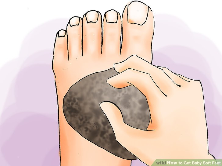 Warm feet clipart graphic free download The Best Ways to Get Baby Soft Feet - wikiHow graphic free download