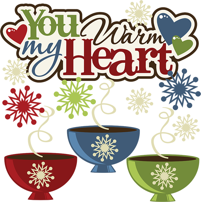 Winter heart clipart black and white download You Warm My Heart SVG hot cocoa svg file snow svg file winter svg ... black and white download