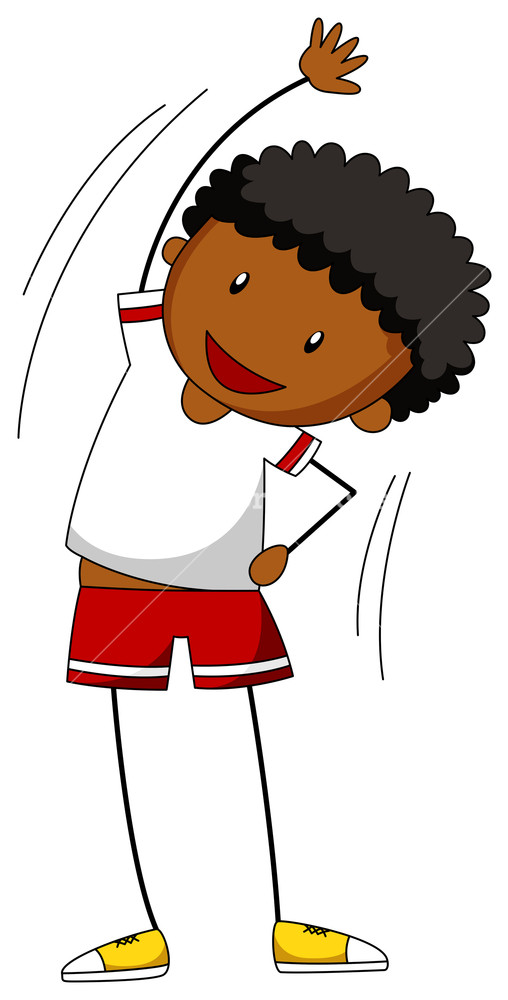Warming up clipart image library stock Close up boy warming up alone Royalty-Free Stock Image ... image library stock