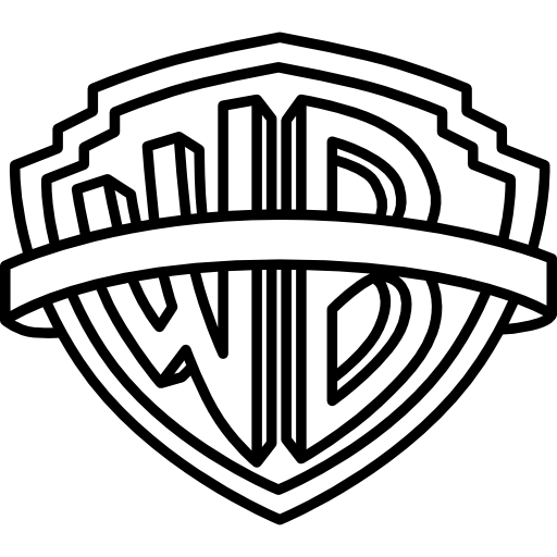 Warner bros pictures logo clipart graphic free library Warner bros Icons | Free Download graphic free library