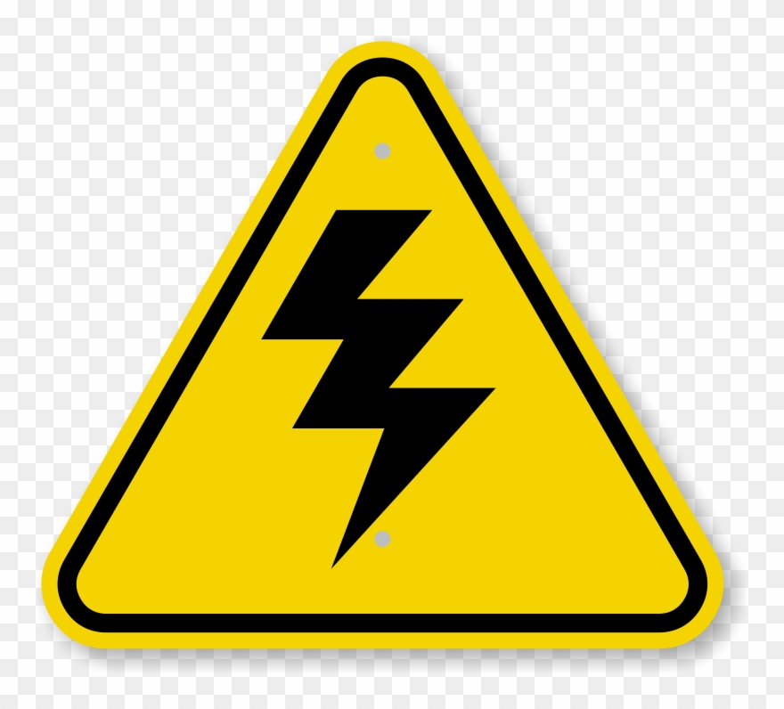 Warning high voltage clipart graphic library download Iso High Voltage Warning Sign Symbol - Step Down Sign ... graphic library download