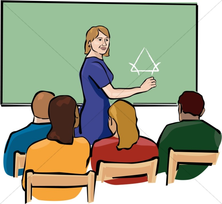 Warning in classroom clipart png freeuse download Teacher Clipart in Color | Christian Classroom Clipart png freeuse download
