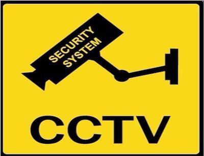 Warning rectangle board clipart banner transparent stock CCTV warning signs board (plastic) banner transparent stock